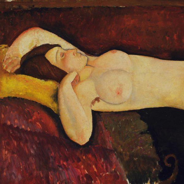 Amedeo Modigliani - Reclining Nude (c. 1919)