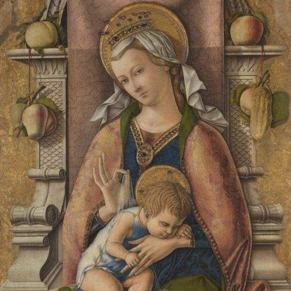 Carlo Crivelli - The Virgin and Child (1476)