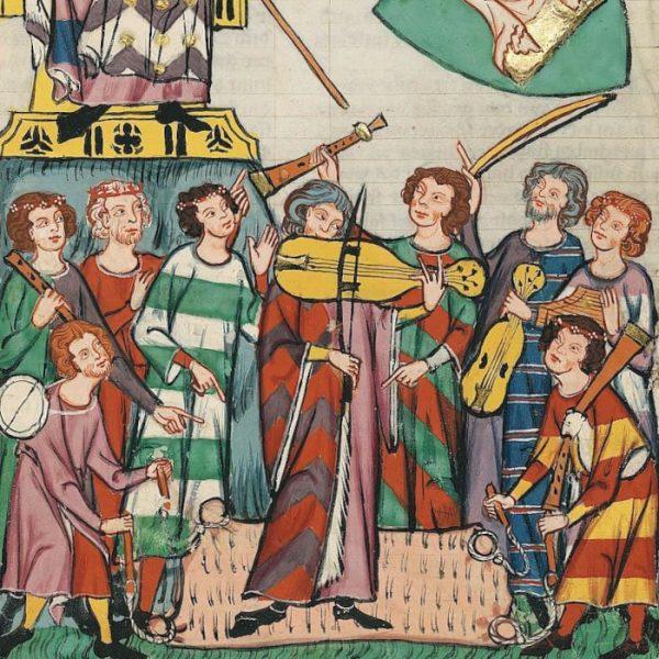 Codex Manasse - Meister Heinrich Frauenlob (1305)
