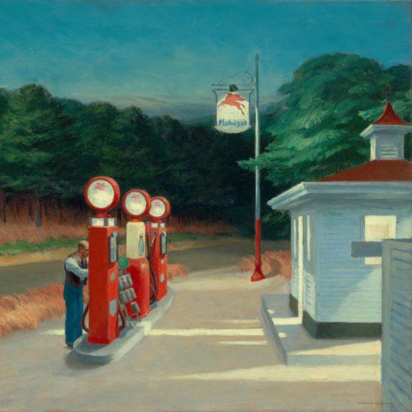 Edward Hopper - Gas (1940)