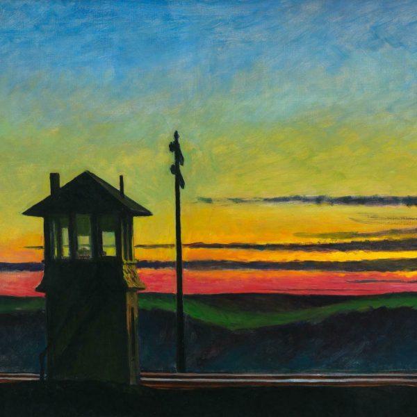 Edward Hopper - Railroad Sunset (1929)
