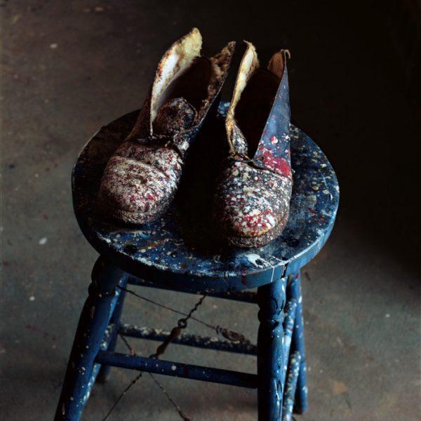 Evelyn Hofer - Lee Krasner's Shoes (1988)