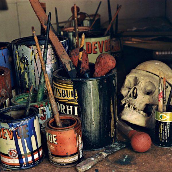 Evelyn Hofer - Pollock Studio, Long Island (1988)
