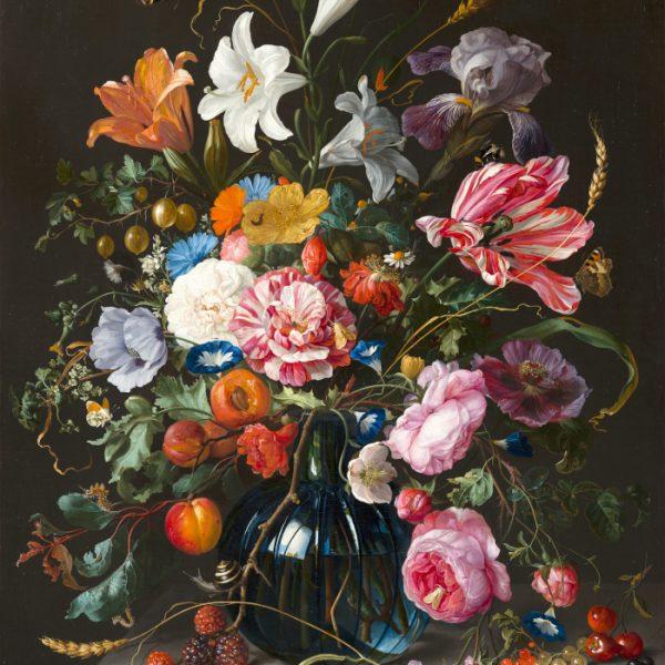 Jan Davidsz de Heem - Vase of Flowers (c. 1670)