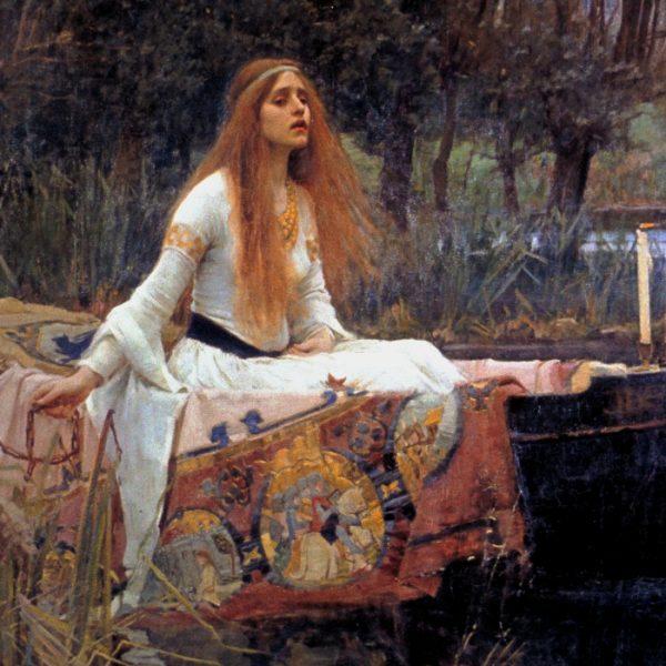 John William Waterhouse - The Lady of Shalott (1888)