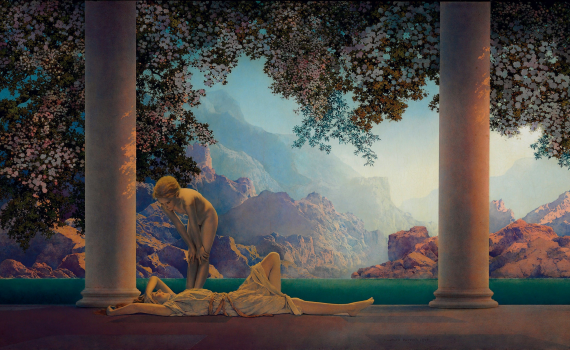 Maxfield Parrish - Daydream (1922)