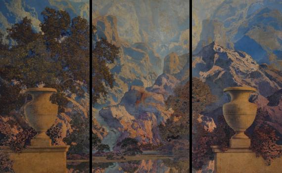 Maxfield Parrish - Du Pont Mural (1933)