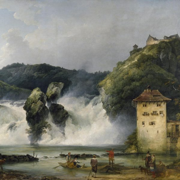Philip James de Loutherbourg - The Falls of the Rhine at Schaffhausen (1788)